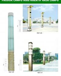Tiang Lampu Taman Kreatif 59