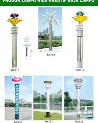 Tiang Lampu Taman Kreatif 65