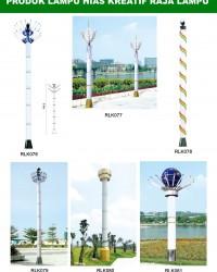 Tiang Lampu Taman Kreatif 66