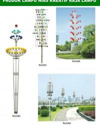 Tiang Lampu Taman Kreatif 69