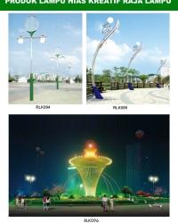 Tiang Lampu Taman Kreatif 70