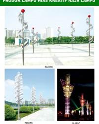 Tiang Lampu Taman Kreatif 71