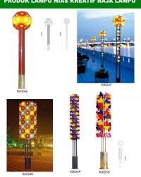 Tiang Lampu Taman Kreatif 79