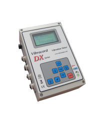 PORTABLE VIBRATION BLASTING MONITOR TYPE DX-SERIES