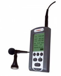 PORTABLE NOISE DOSIMETER AND CALIBRATOR  DS-200