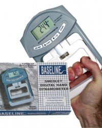 Digital Hand Dynamometer Spring 200lb ||