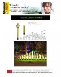 Lampu Hias Dekorasi Taman Model Pilar