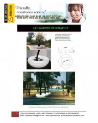 Lampu Hias Dekorasi Taman Motif Pot