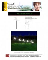 Lampu Hias Dekorasi Taman Motif Angsa