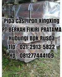 PIPA CAST IRON XINXING