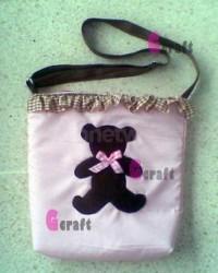 Goody Bag Shoulder Bag Teddy In Ruffle
