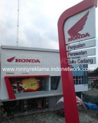Signage Showroom - Honda