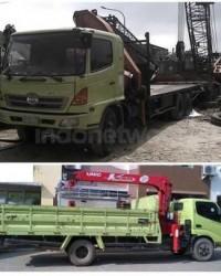 Ams Crane Truck Mounted Crane Foco - Hiab Crane Unic Crane