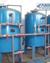 Tangki Carbon Filter 20 m3/jam
