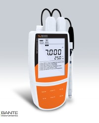 PORTABLE MULTIPARAMETER WATER QUALITY METER BANTE 900P - Ammonium & Nitrate