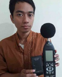 SOUND LEVEL METER TYPE (CALIBRATOR + PORTABLE PRINTER)