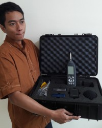 SOUND LEVEL METER AND CALIBRATOR + PRINTER (type 2)