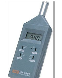 PORTABLE SOUND LEVEL METER LM-9600  || ALAT UKUR KEBISINGAN SUARA