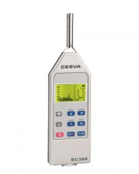 PORTABLE INTEGRATING SOUND LEVEL METER SC260 CESVA || ALAT UKUR KEBISINGAN SUARA