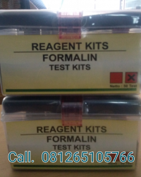 FORMALIN TEST KITS || REAGENT KITS || READY STOCK
