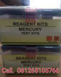 MERCURY TEST KITS || REAGENT KITS || READY STOCK