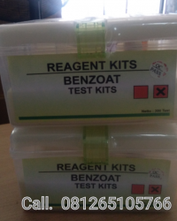 BENZOAT TEST KITS || REAGENT KITS || READY STOCK
