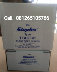 PAPER FIBER FILTER || GLASS FIBER FILTER FOR HIGH VOLUME AIR SAMPLER MODEL TFIA, TFIA 2, TFIA4