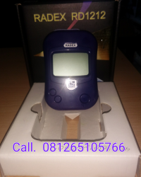 PORTABLE RADIATION DETECTOR (TYPE: RD-1212 QUARTA-RUSIA)