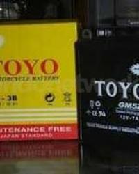 Aki Motor Merk Toyo
