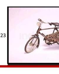 Handicrafts Miniatur Sepeda Thailand