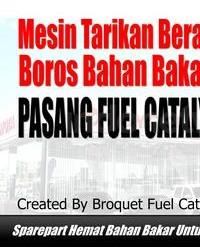Toyota Tambun - Pasang Fuel Catalyst