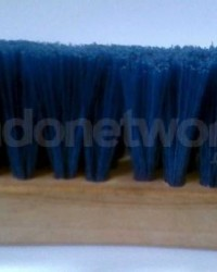 Sikat Tangan Gagang Kayu Bulu Ijuk / Bulu kiuda / Bulu Sapii / Nylon