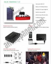 SHS Lampu Sehen 15 - 20 WP Solar Cell