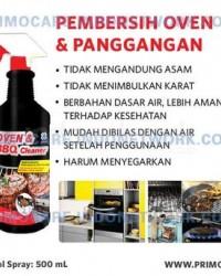 Pembersih Oven & Panggangan Primo Oven & BBQ Cleaner - 500 Ml