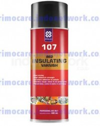 107 Red Insulating Varnish
