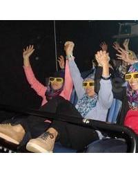 Bioskop 9 Dimensi - 6 Kursi Hidrolik