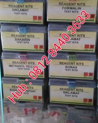 SIKLAMAT TEST KIT || REAGENT FOOD SECURITY KIT