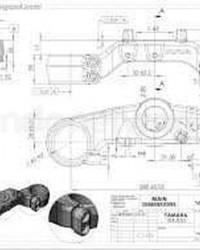 Jasa Drawing Mesin dan Komponen