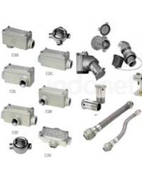 Conduits, Fittings, Cable Glands, Plugs & Receptacles, Etc..