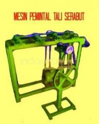 MESIN + PEMINTAL + TALI + SERABUT