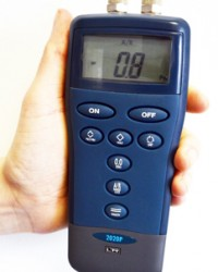 PORTABLE DATALOGING MANOMETER, JUAL PORT