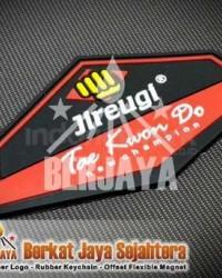 Emblem Label Karet Seragam