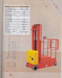 ELECTRIC AERIAL ORDER PICKER