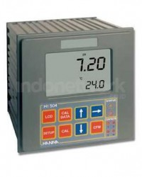HANNA, HI 504 SERIES PH/ ORP CONTROLLER WITH TELE-CONTROL AND SENSOR CHECK