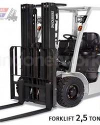 Sewa Forklift 2.5 Ton Berkualitas Harga Murah