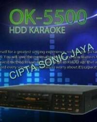 DVD Player Karaoke Geisler Ok 5500 Hardisk 2 Terra
