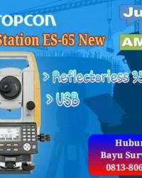 Jual Total station Topcon ES-65 Jakarta selatan//081380673290
