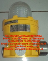 Lampu Strobo Warning Lighting Explosion Proof Warom BBJ81
