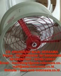 """Blower Fan Explosion Proof Axial Flow Fan 12"""" 16"""" 20"""" HRLM CBF300 CBF400 CBF500 Jakar"""