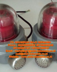 Lampu Led Strobo Warning Light Explosion Proof 10 Watt QINSUN BJD330 LED Warning Lighting Jakarta